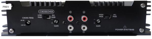 Amplificador Power Systems A900 D com 4 canais