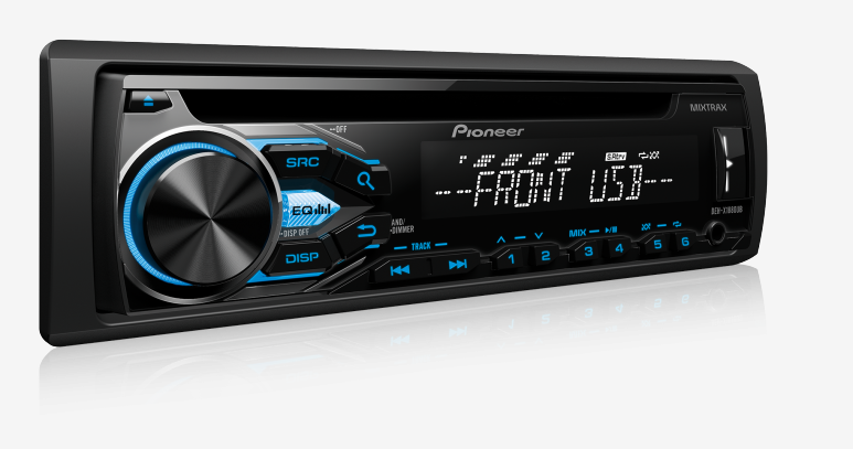 CD Player DEH-X1880UB Pioneer