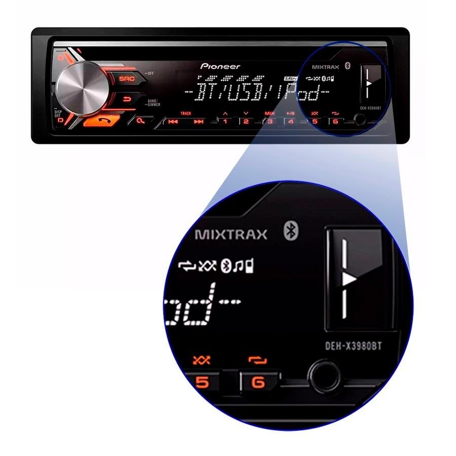 CD Player Pioneer DEH-X3980BT