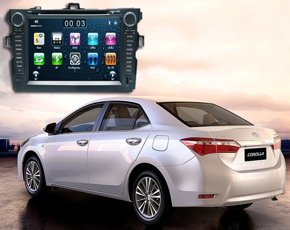 Central Multimídia Winca Toyota Corolla