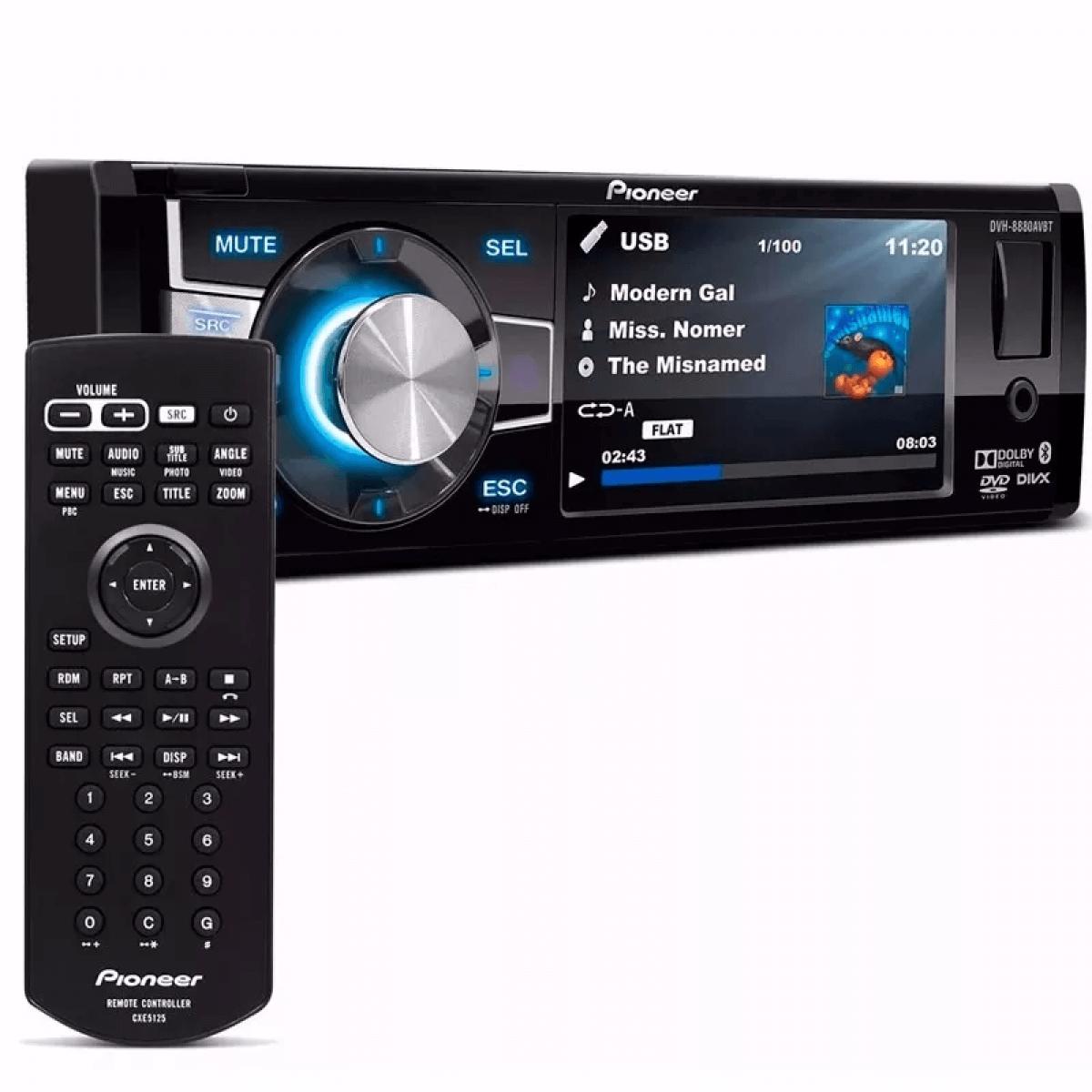 DVD Player DVH-8880AVBT Pioneer