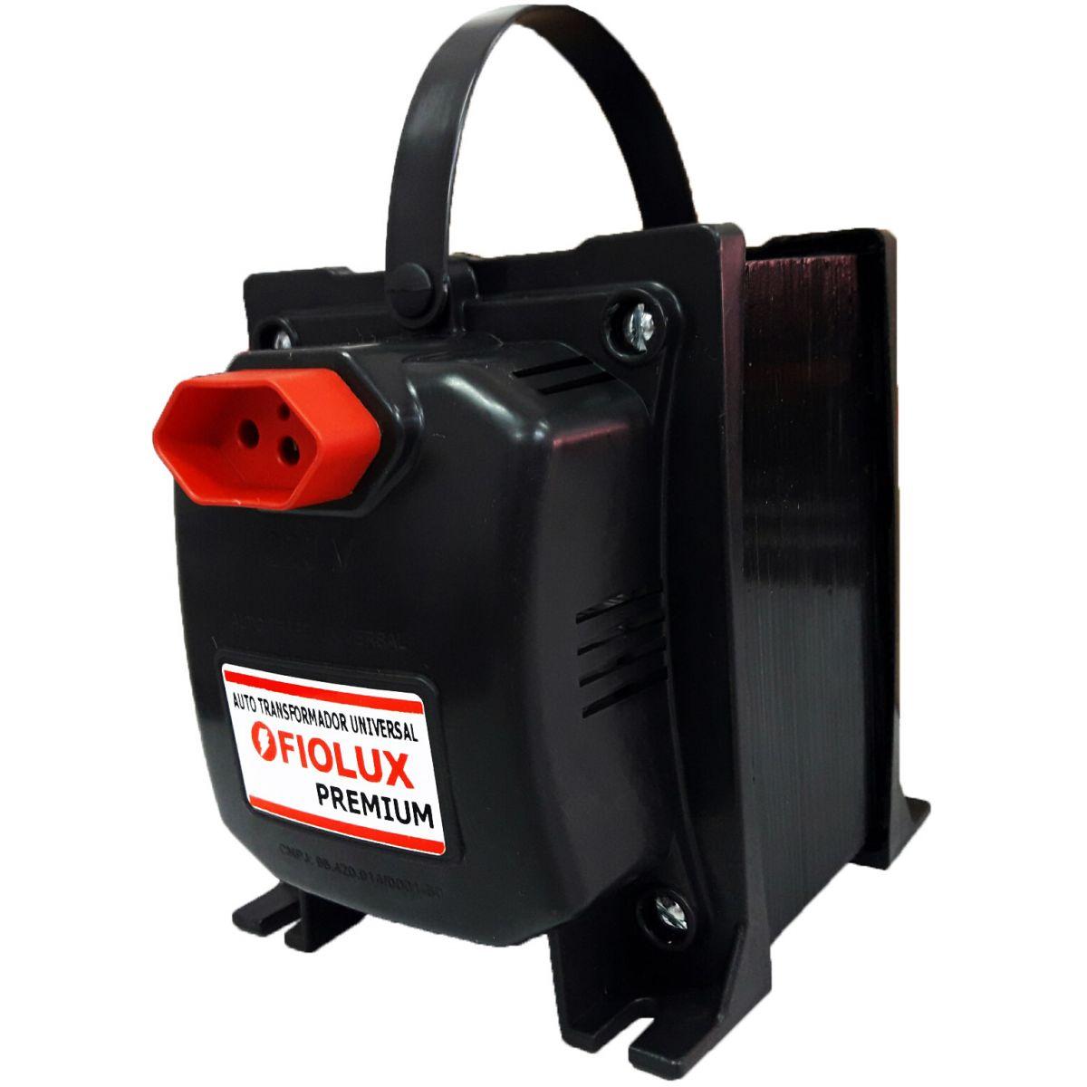Transformador Fiolux Premium Tripolar 4000VA Bivolt 110/220 e 220/110 Ref: 4000