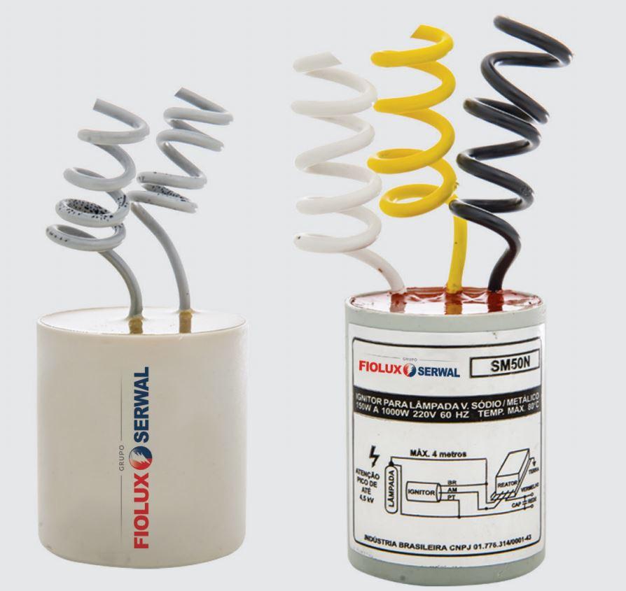 Reator para Lâmpadas Vapor Sódio/Metálico 250W 220V Interno - Com INMETRO
