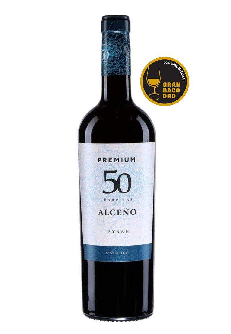 Alceño Syrah Premium 50 Barricas DO Jumilla 750ml