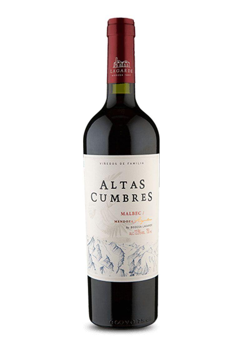 Altas Cumbres Malbec 750ml