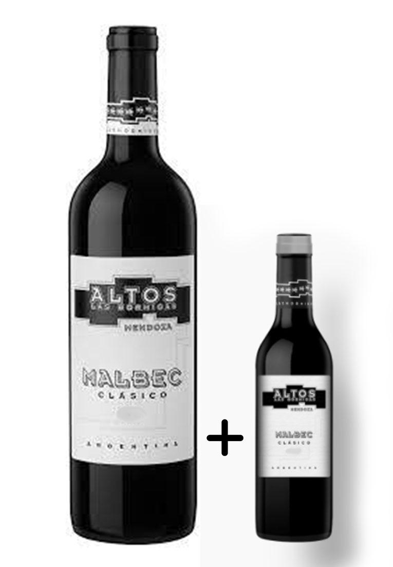 Altos Las Hormigas Malbec Clásico 750ml + Brinde Meia Garrafa 375ml