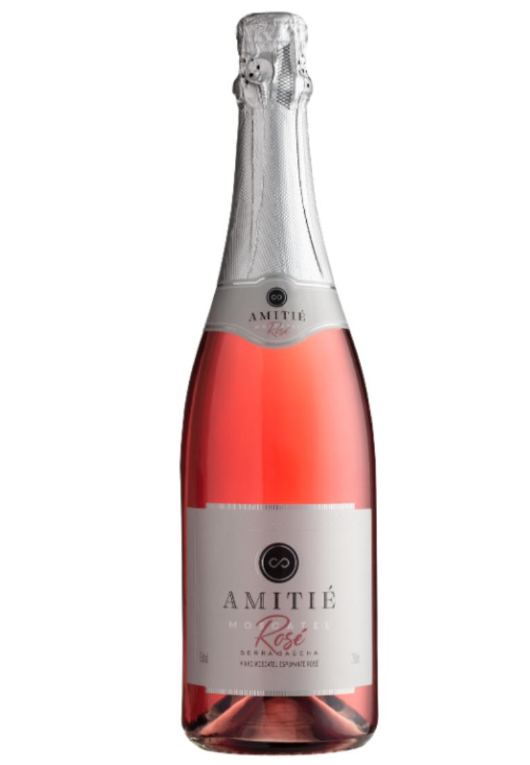 Amitié Espumante Moscatel Rosé