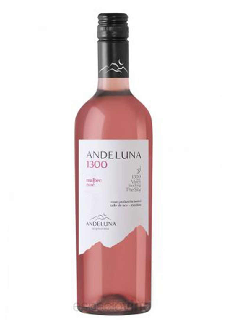 Andeluna 1300 Malbec Rosé 750ml