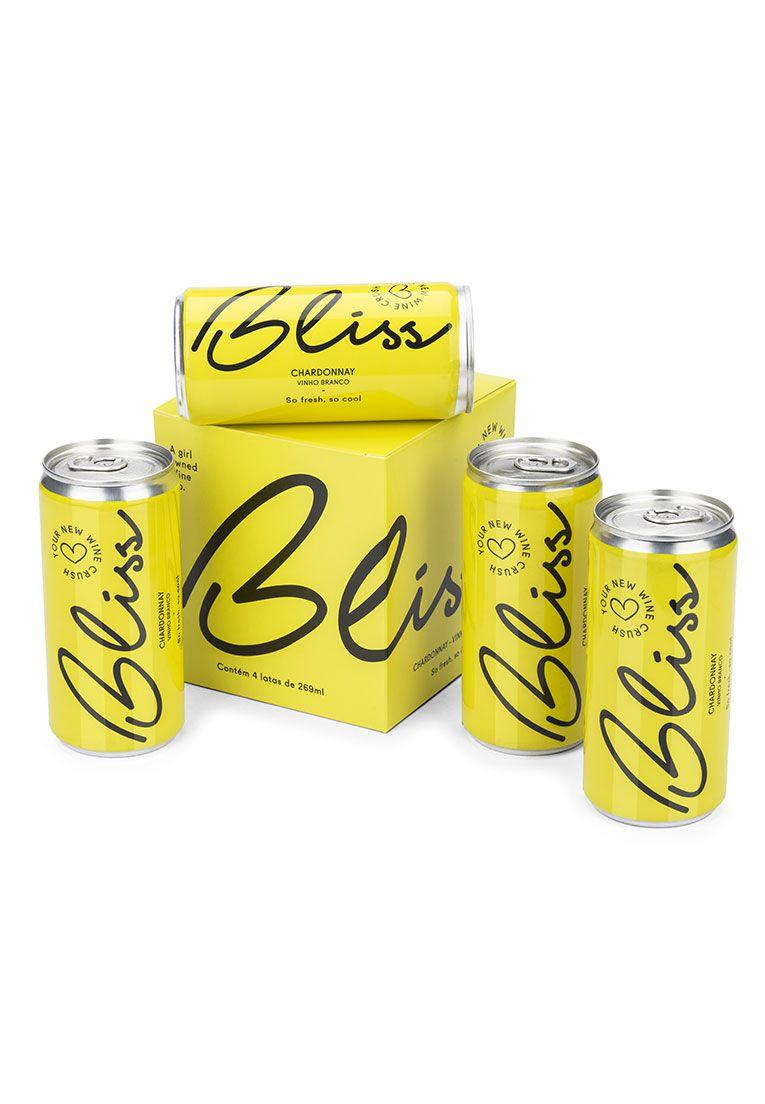 Bliss Chardonnay em Lata 269ml