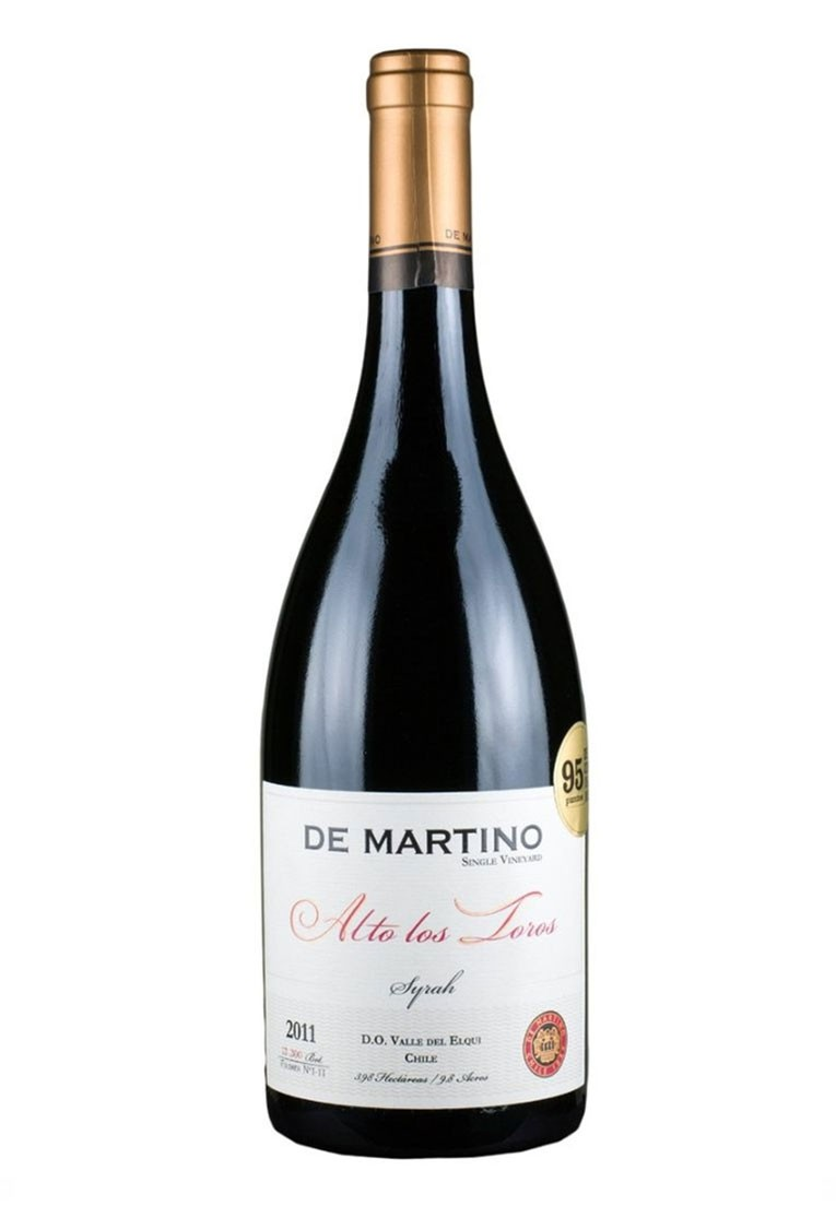 De Martino Syrah Single Vineyard Alto los Toros 2011