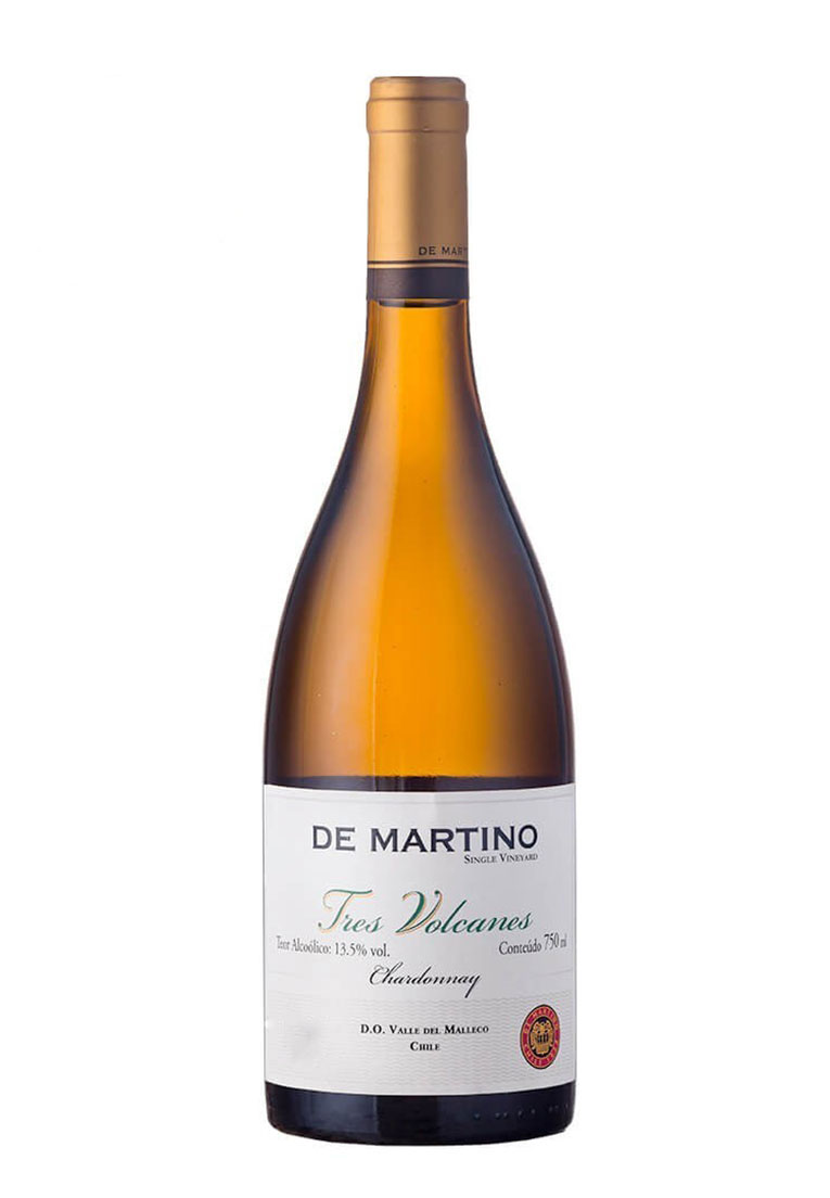 De Martino Tres Volcanes Chardonnay Silge Vineyard 2017
