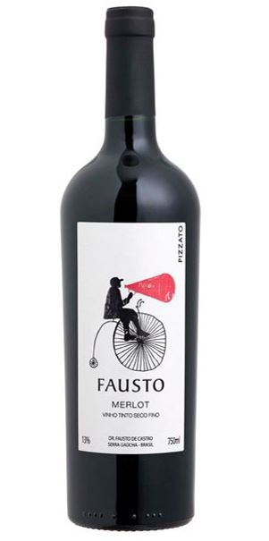 Fausto de Pizzato Merlot 2020