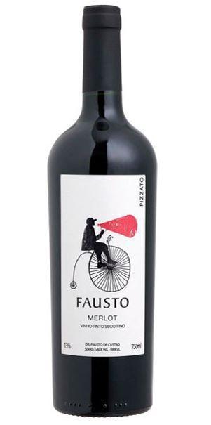 Fausto de Pizzato Merlot 2018