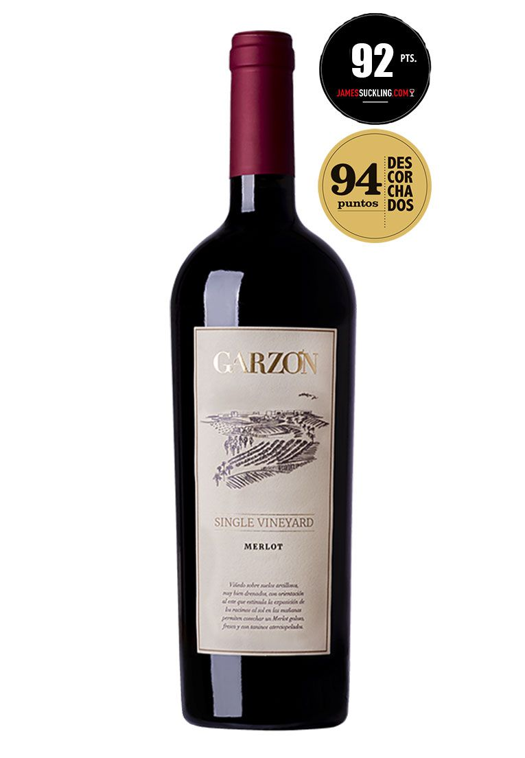 Garzón Single Vineyard Merlot 750ml