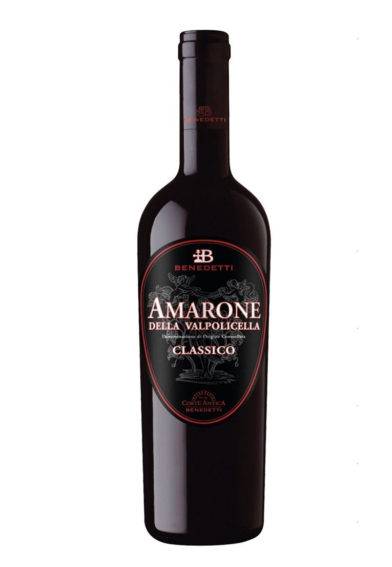 Kit Ícones Italianos Amarone:  Benedetti e Sartori (2 garrafas)