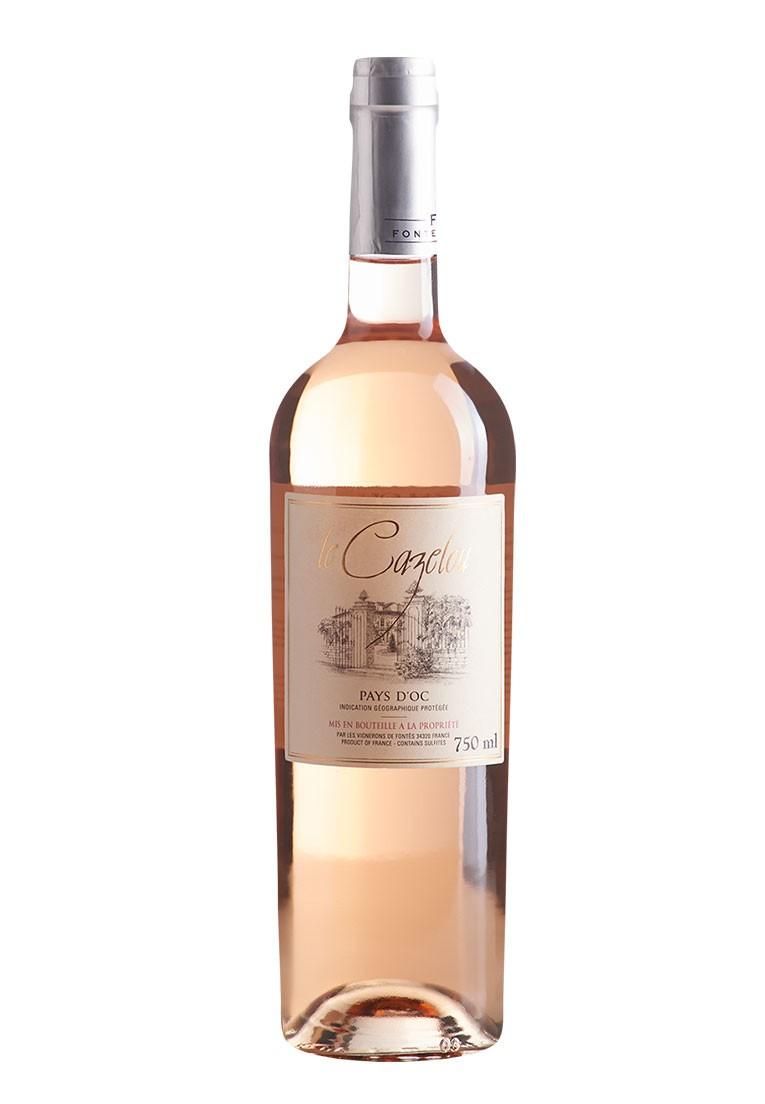 Le Cazelou Pays D'oc Rosé 2019