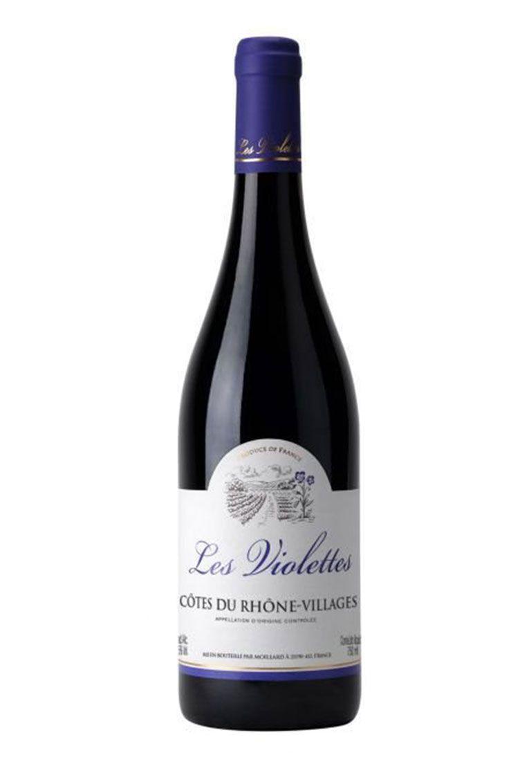 Les Violettes Côtes-du-Rhône Villages 750ml
