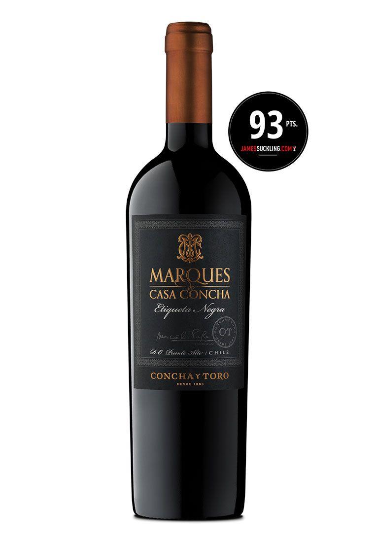 Marques de Casa Concha Etiqueta Negra 750ml