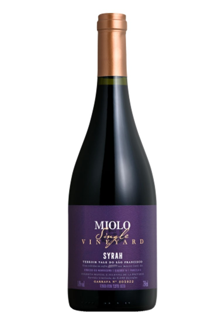 Miolo Syrah Single Vineyard 2018