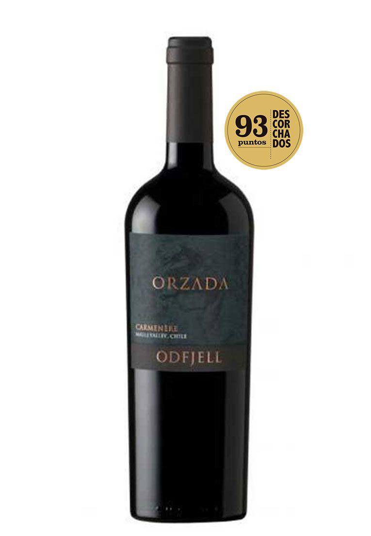 """Odfjell Orzada Carménère """"Orgânico"""" 2015"""