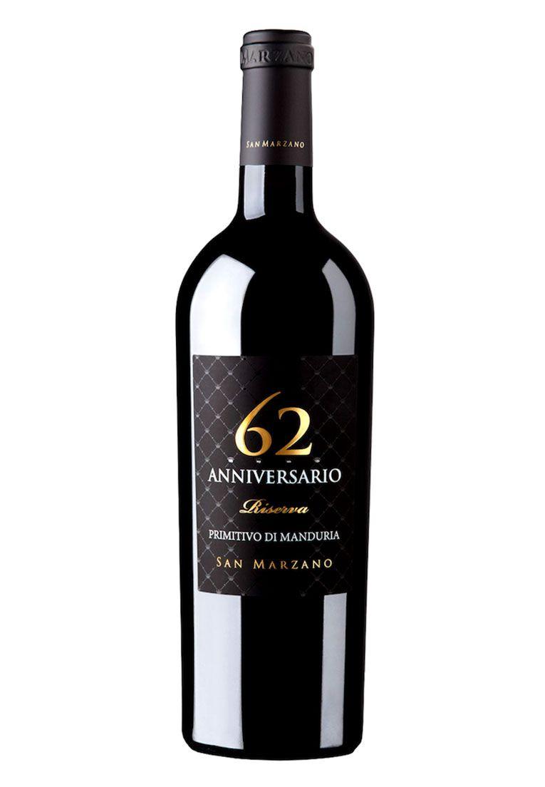 San Marzano Anniversario 62 Primitivo de Manduria DOC 750ml