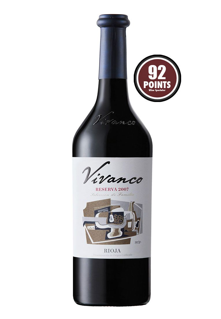 Vivanco Rioja Reserva 750ml