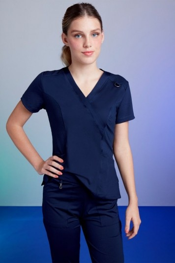 Scrub Feminino Tech Blue