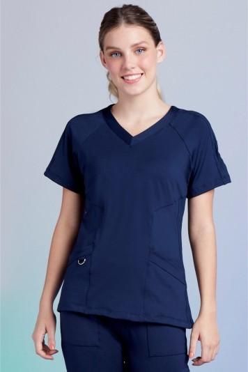 Camisa  Feminina Scrub Freedom Blue