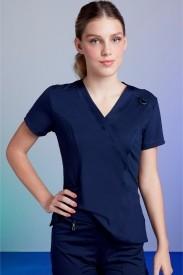 Camisa Feminina Scrub Tech Blue
