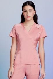 Camisa Feminina Scrub Tech Rosé