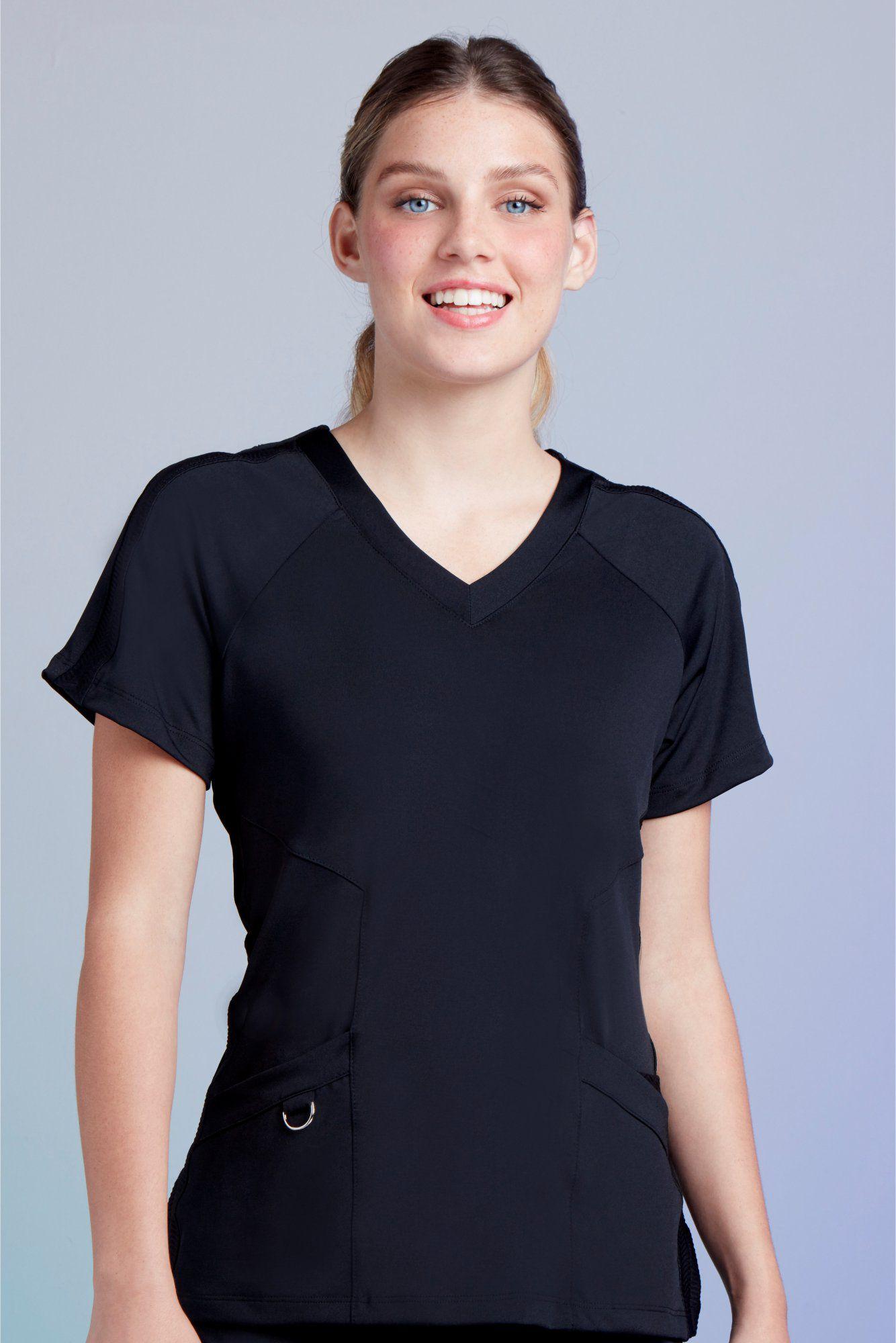 Camisa Feminina Scrub Freedom Black