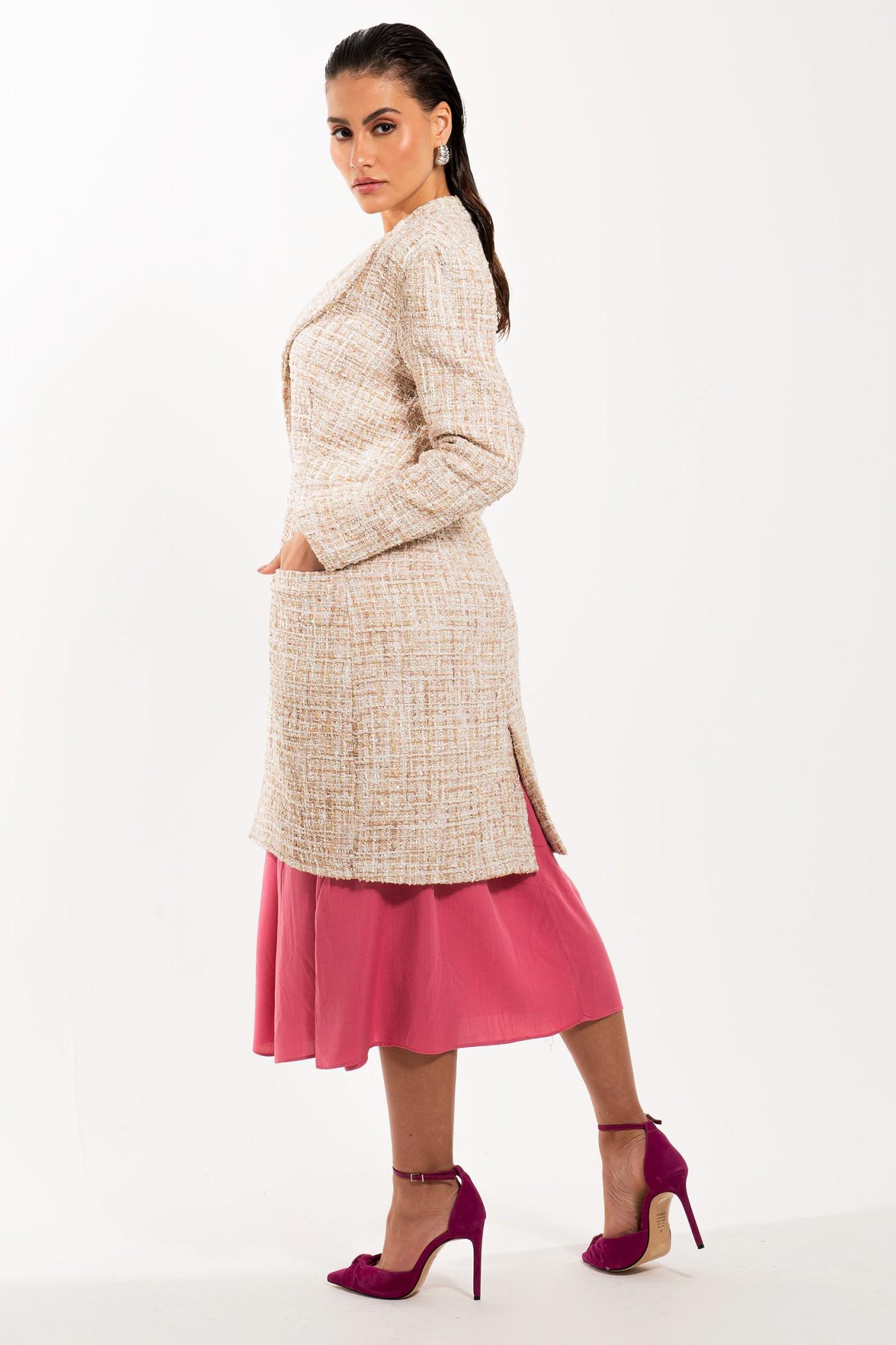 Jaleco Feminino de Inverno Trench Coat Alba