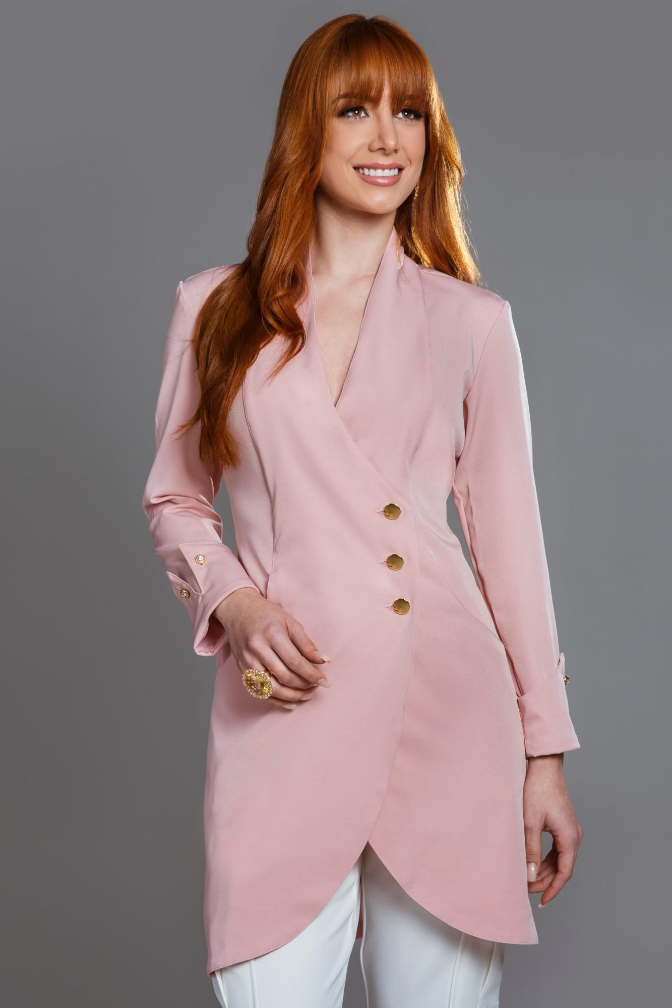 Jaleco Feminino Beauty Rosé