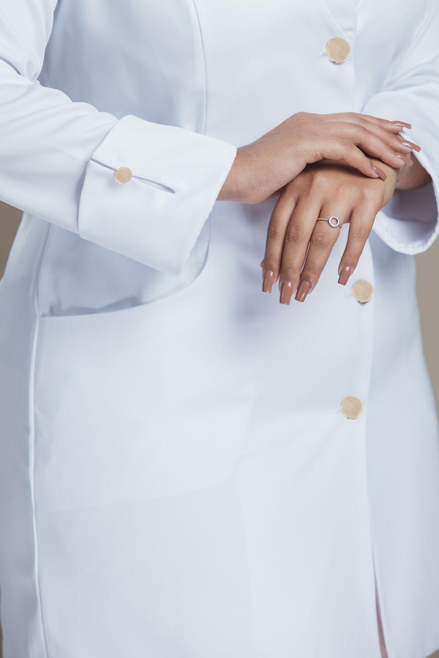 Jaleco Feminino Charm Plus Size