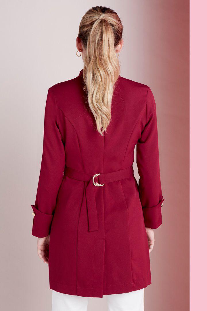 Jaleco Feminino Charm Royale Red