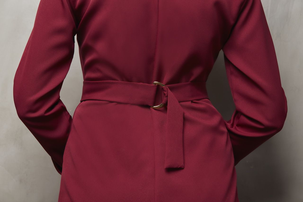 Jaleco Feminino Colorido Royale Red