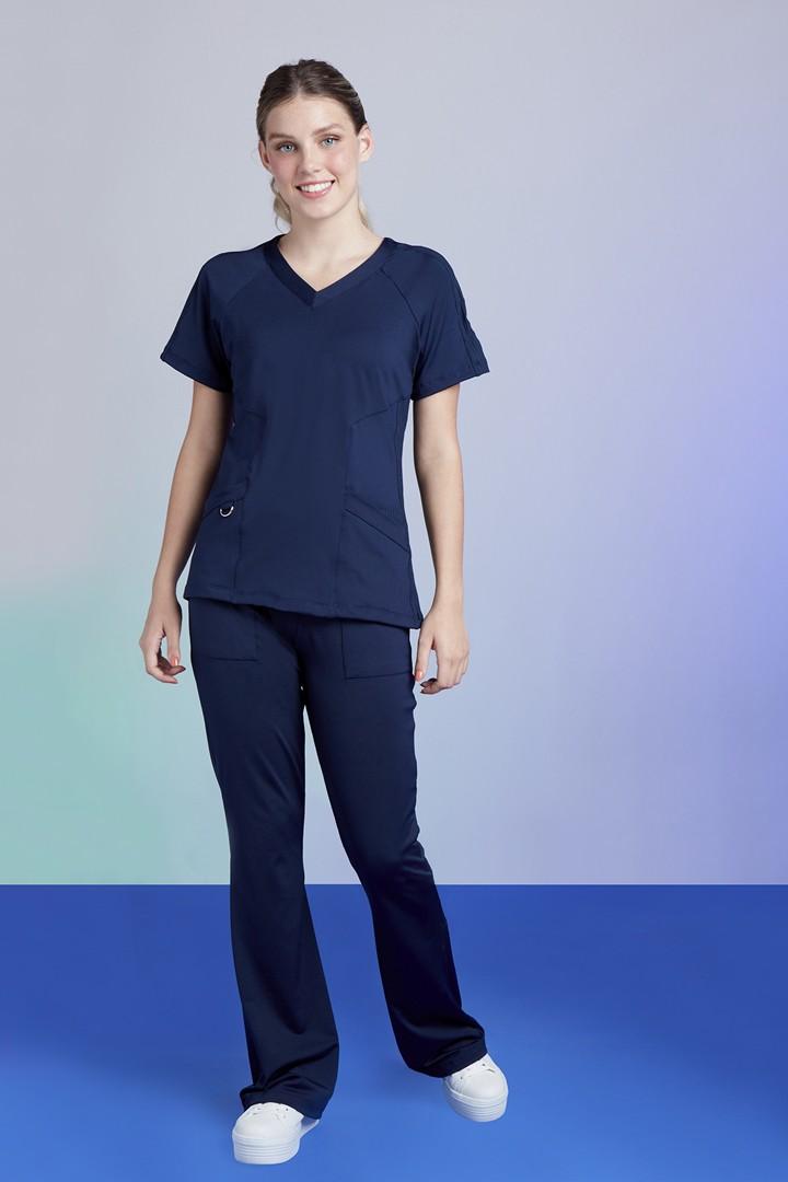 Kit Scrub Feminino Freedom Blue + Camisa Tech Blue