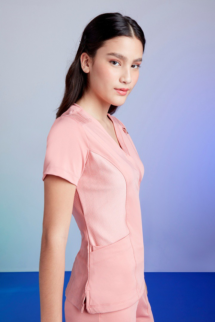 Kit Scrub Feminino Freedom Rosé + Camisa Tech Rosè