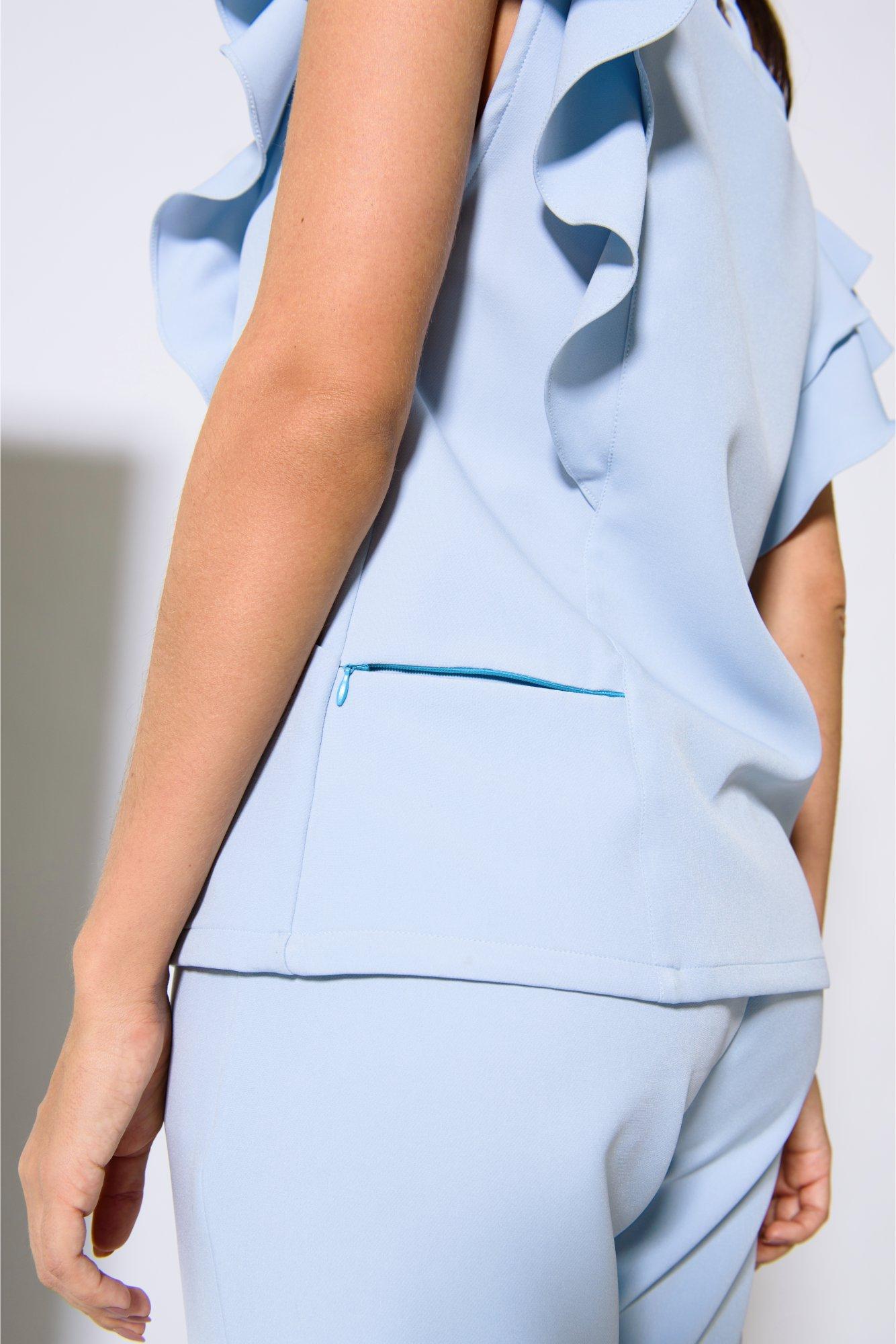 Scrub Feminino Carolina Azul Atlântida