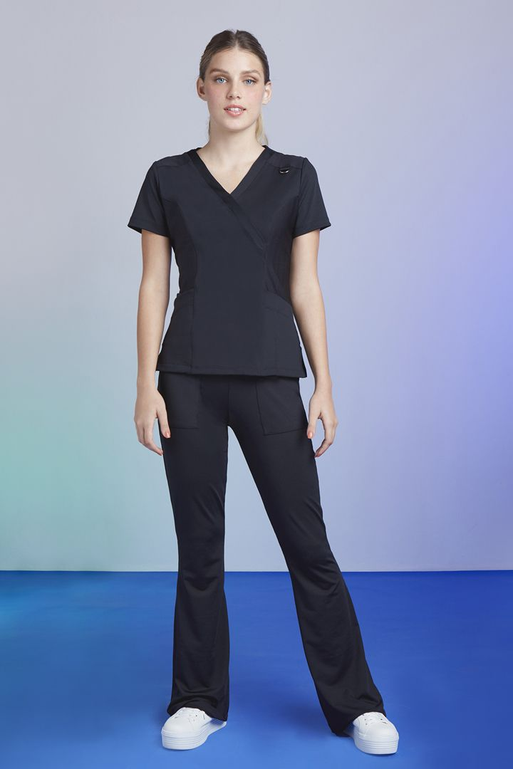 Scrub Tech Feminino Black
