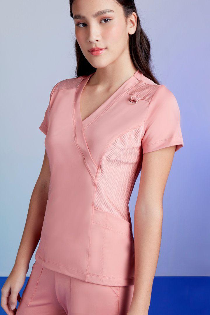 Scrub Feminino Tech Rosé