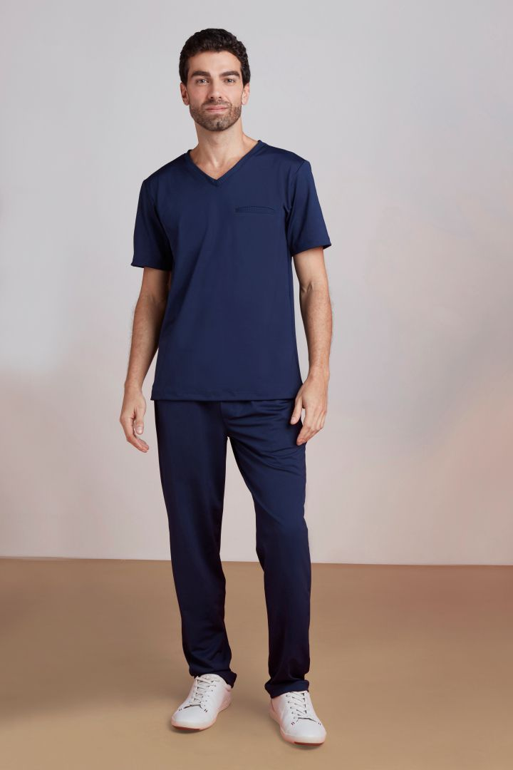 Scrub Masculino Tech Blue