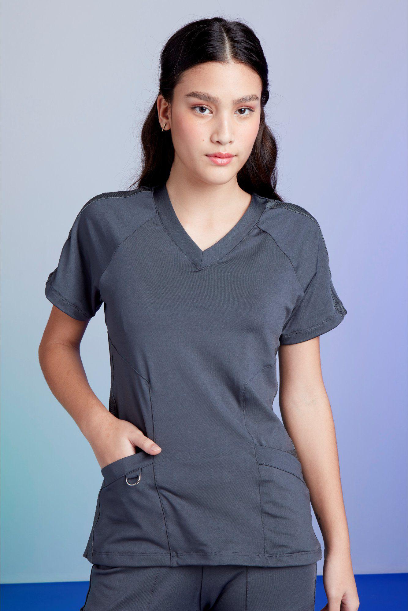 Camisa Feminina Scrub Freedom Titanium