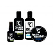 Kit Bandholz Beard (Barba Escura) - CHAMPION STYLE