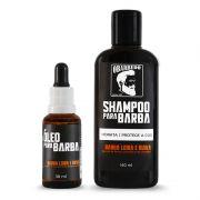 Kit Barba Loira e Ruiva  Shampoo + Óleo