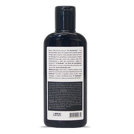 Balm Lendas multifuncional para barba 140ml - (B2B)