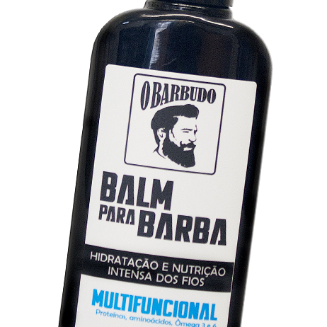Balm multifuncional para barba 140ml - 6 unidades