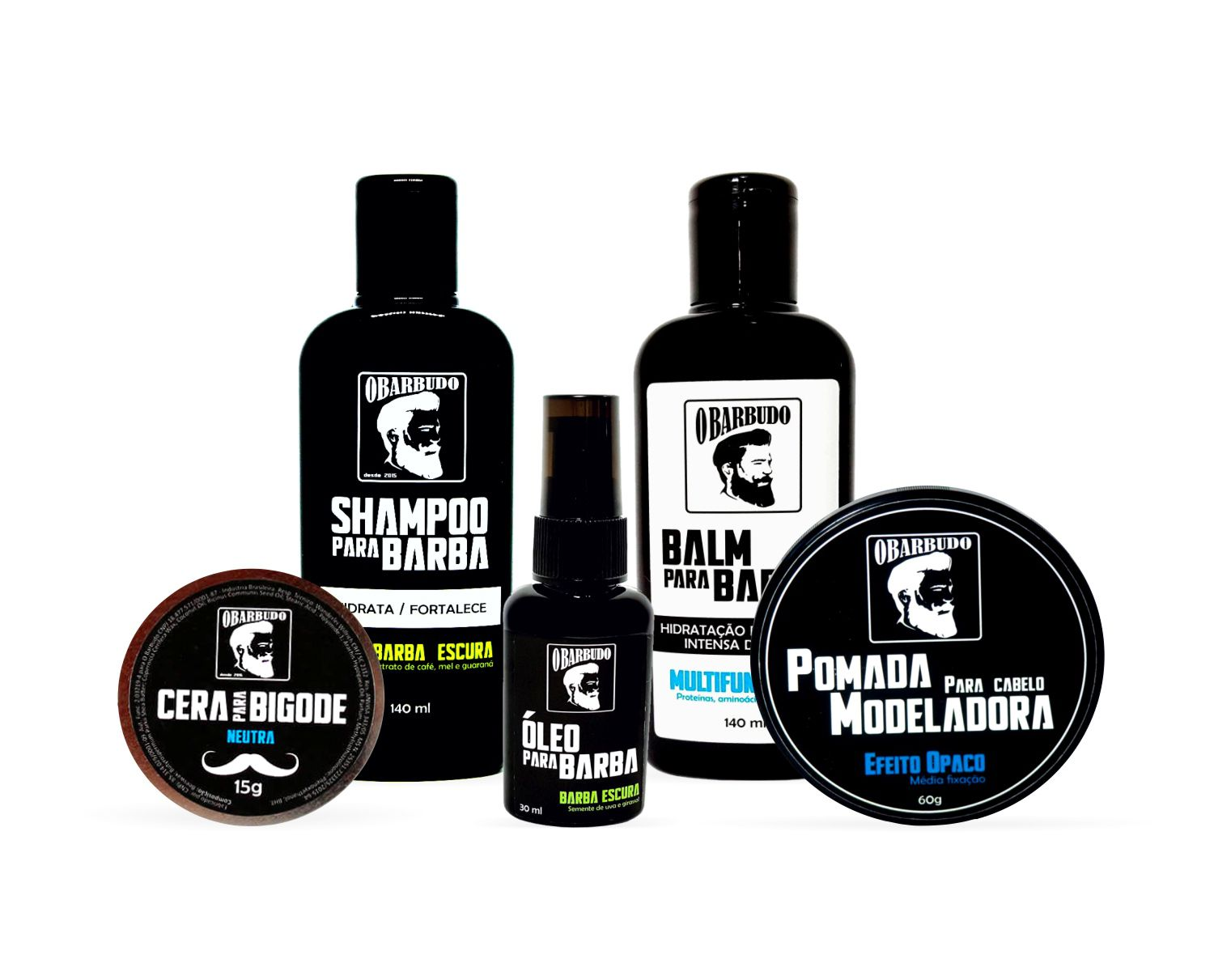 Kit Garibaldi Beard (Barba Escura) - CHAMPION STYLE
