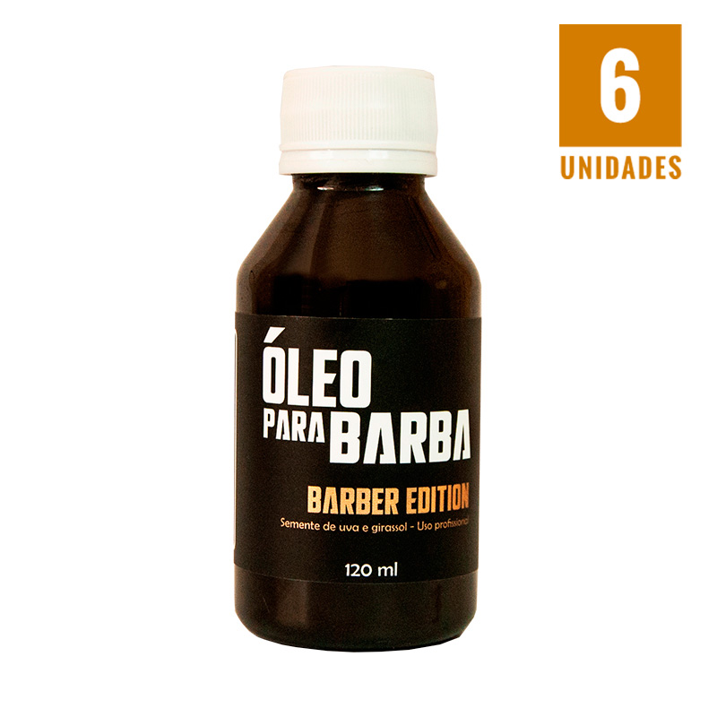 Óleo Barber Edition 120ml - 6 unidades