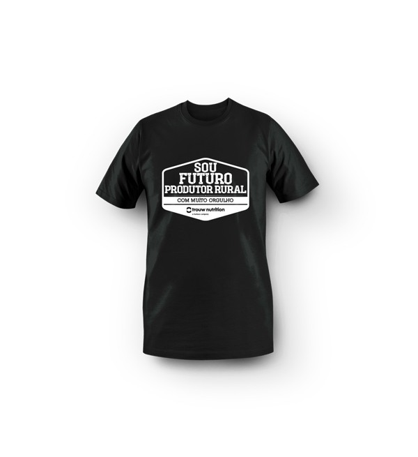 Camiseta Infantil Masculina Preta